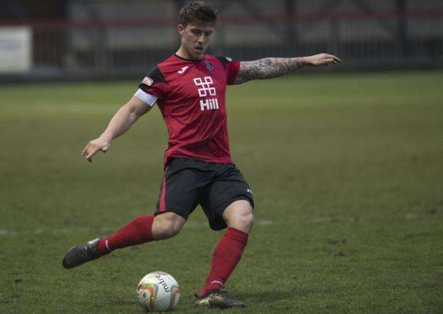 Max York was on the mark for Histon against Marlow. Picture: Mark Hopkin