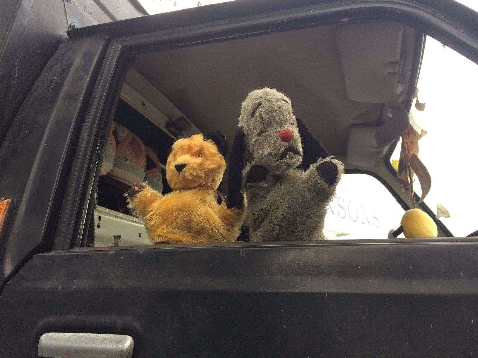Sooty and Sweep wave goodbye to their once loved TV mobile van (21698950)