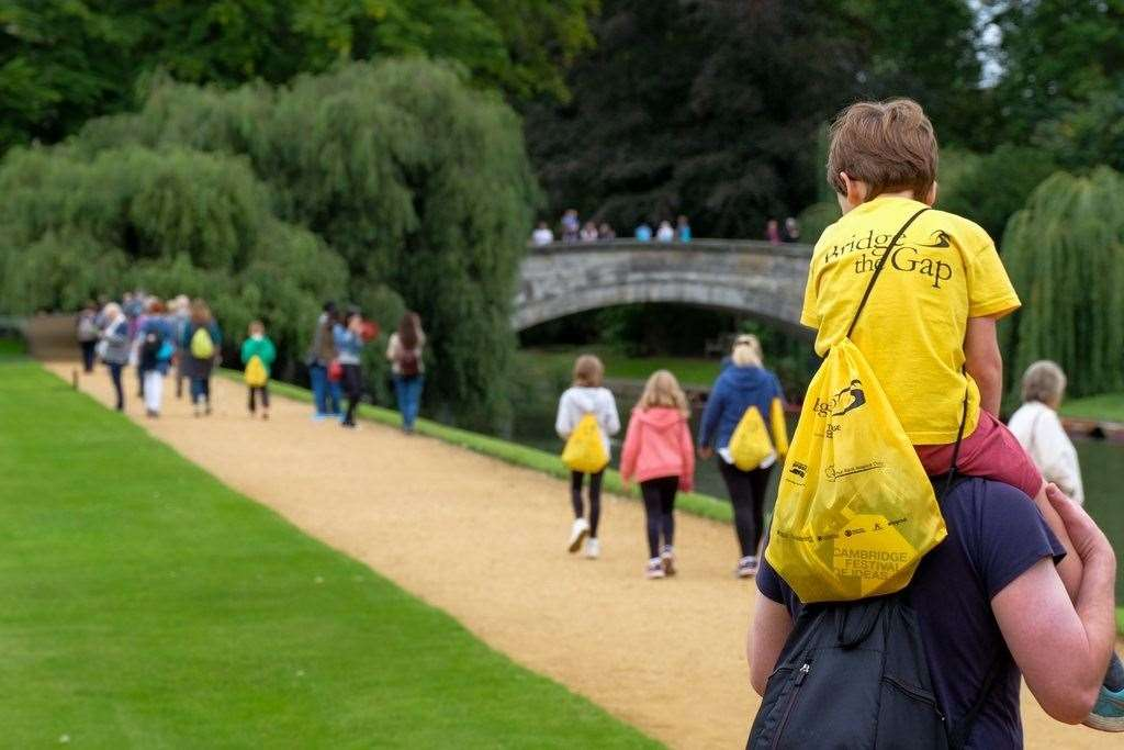 Charities will benefit from the efforts of Cambridge's walkers. Picture: Courtesy of Sir Cam
