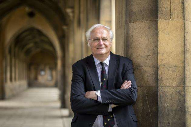 Professor Sir Christopher Dobson, master of St Johns College, Cambridge. Picture: Keith Heppell