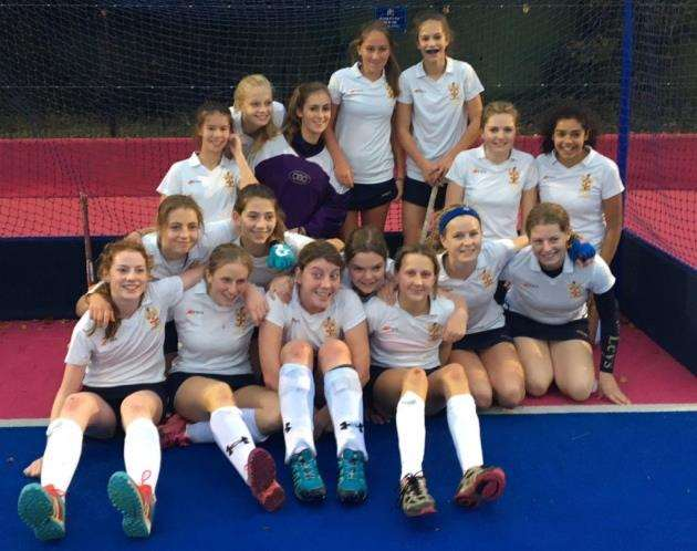 The Leys School under-16 county hockey champions