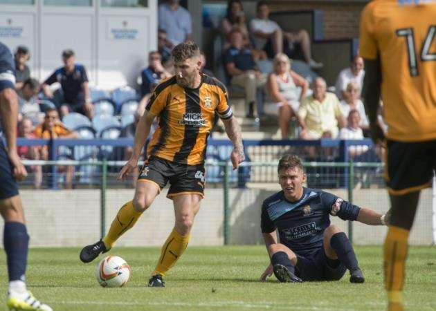 Gary Deegan produced a man-of-the-match performance for Cambridge United against Morecambe. Picture: Cambridge United