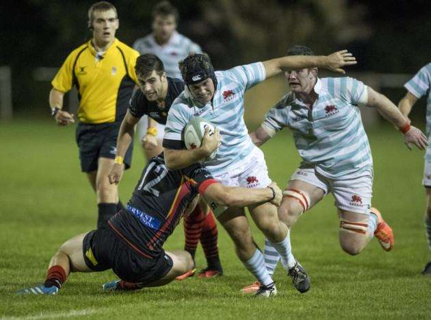 Mike Phillips in action for Cambridge University.