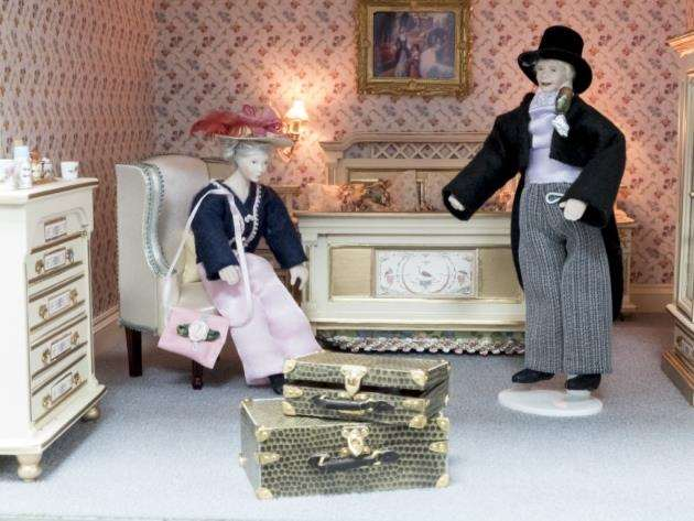 Dolls House which has been given to ACT at Addenbrookes to raise funds . Picture: Keith Heppell