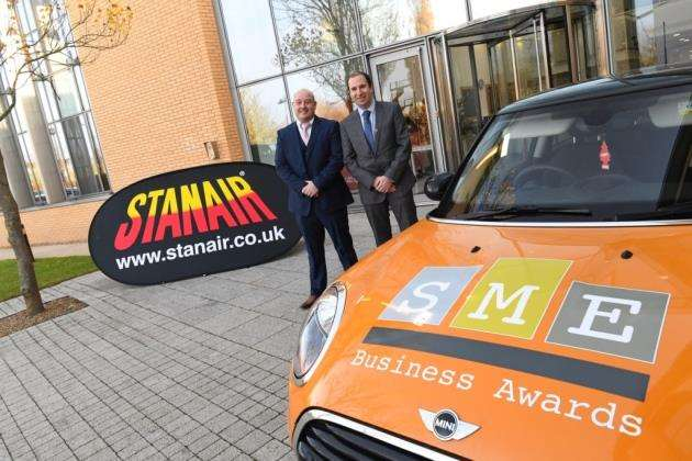 Stanair sponsors the SME Cambridgeshire Business Awards