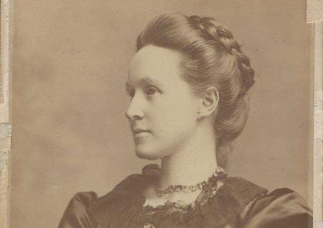 Millicent Fawcett pictured in 1892.