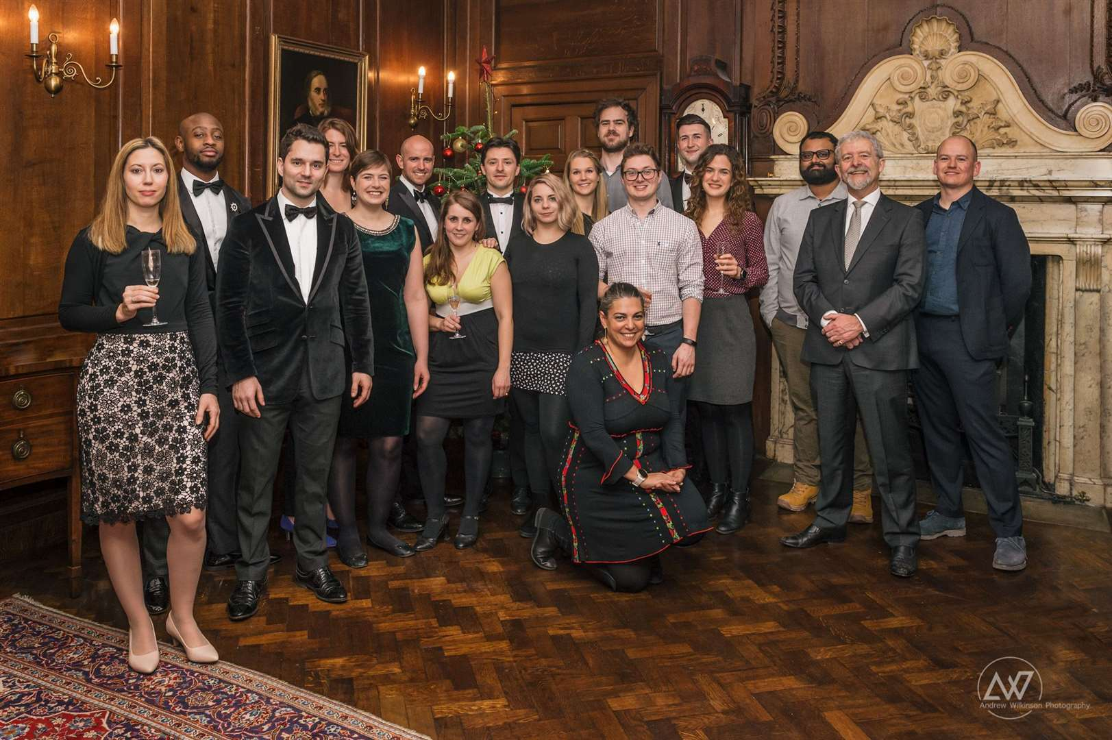 The Cambridge Spark team at their 2019 Christmas dinner