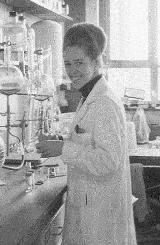 Jean Purdy in the laboratory Picture: Bourn Hall. (31651168)
