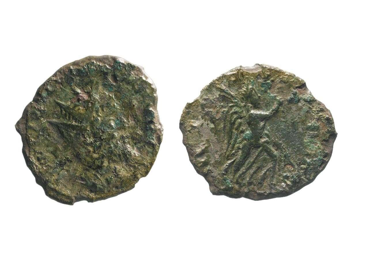 Only the second coin of Emperor Laelianus to be discovered in England