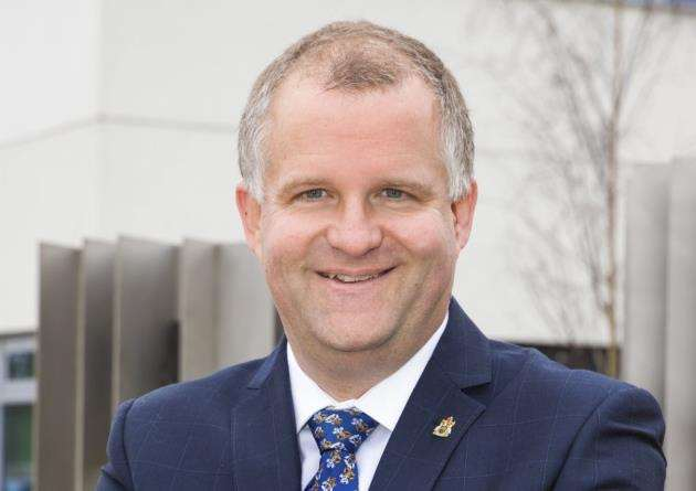 Professor Iain Martin - Vice Chancellor at ARU Photo by Paul Starr