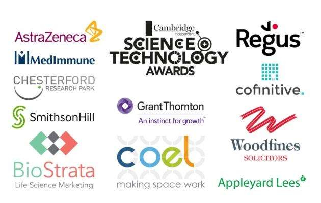 Cofinitive is among the sponsors of the 2018 Cambridge Independent Science and Technology Awards