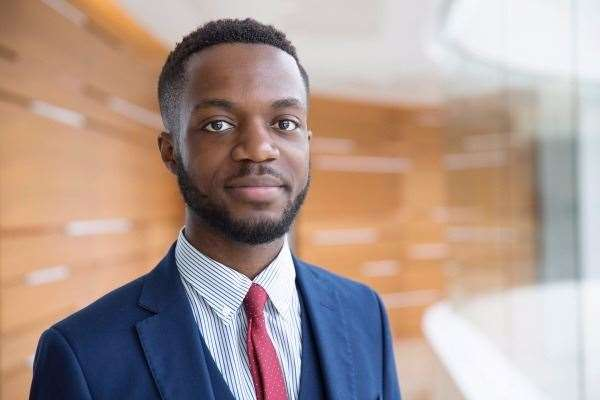 Dylan Kawende is crowdfunding to raise money to study Senior Status Law at St Edmund's College, Cambridge. His profile picture for the Stephen Lawrence Scholarship. (36846884)