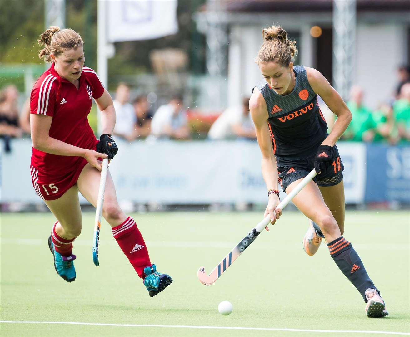 Tess Howard, who has been called up for GB hockey. Picture: Koen Suyk/England Hockey. (8776556)