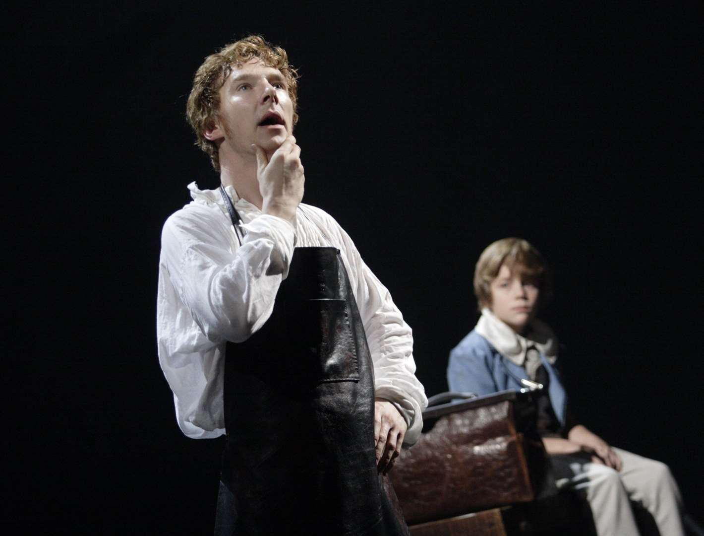 Benedict Cumberbatch in the National Threatre production of Frankenstein (33923780)