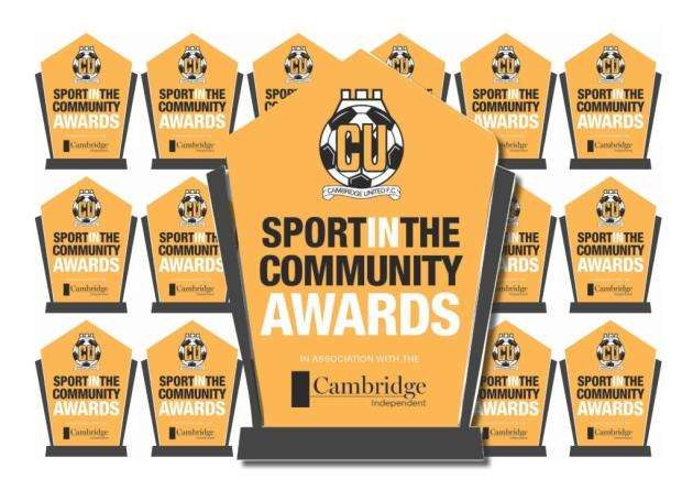 Cambridge United Sport in the Community Awards