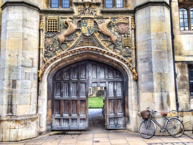 Christs College. Picture: Sir Cam / University of Cambridge