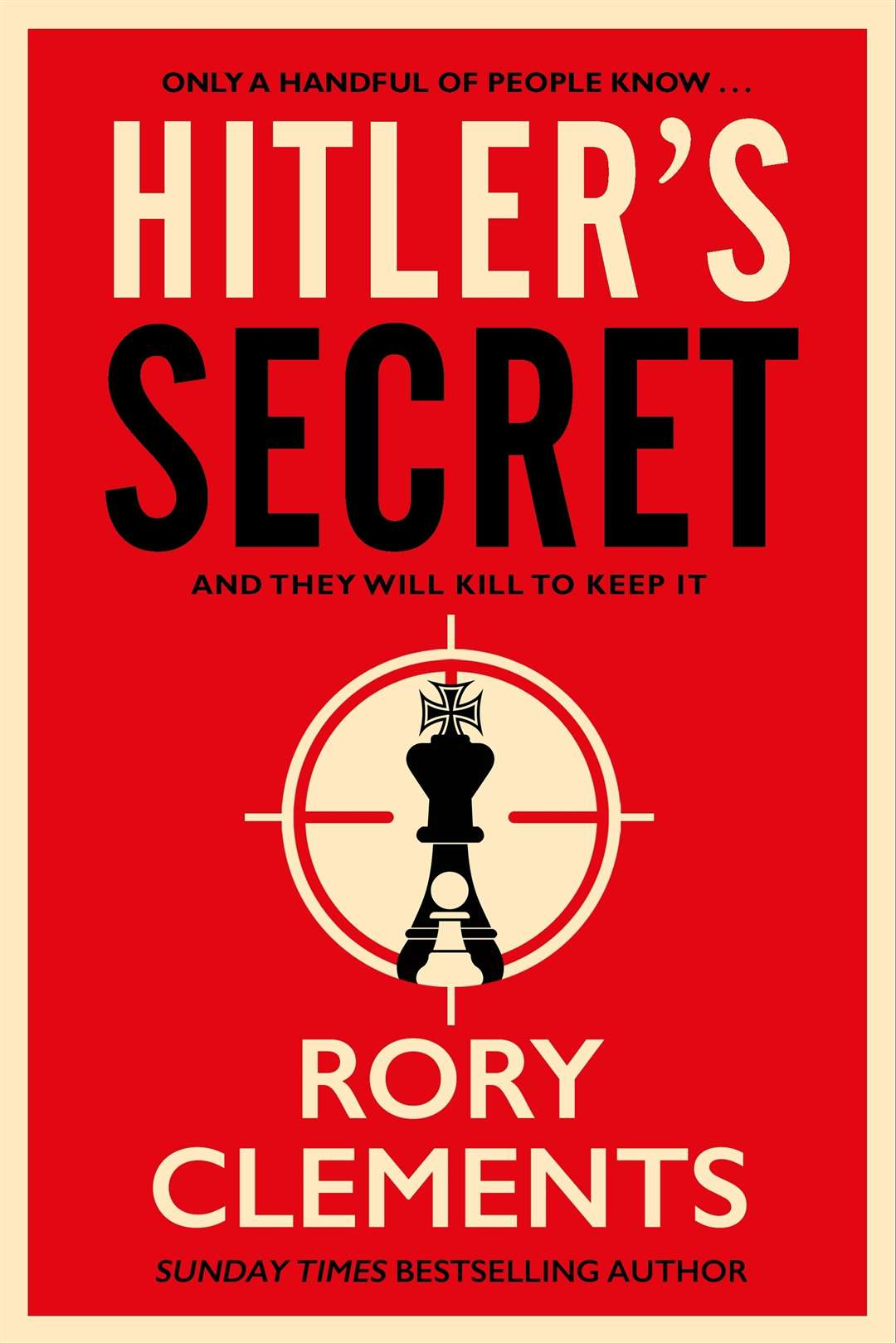 Rory Clements' novel Hitler's Secret (27523499)
