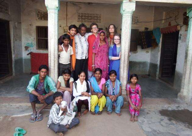 International Youth (ICS) winner - Eleanor Carne from Cambridge volunteered in India