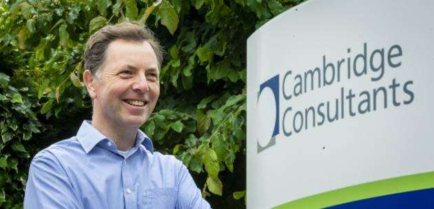 Derek Long, head of telecoms and mobile at Cambridge Consultants on the Science Park. Picture: Keith Heppell