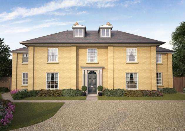 New home at The Pastures in Harston