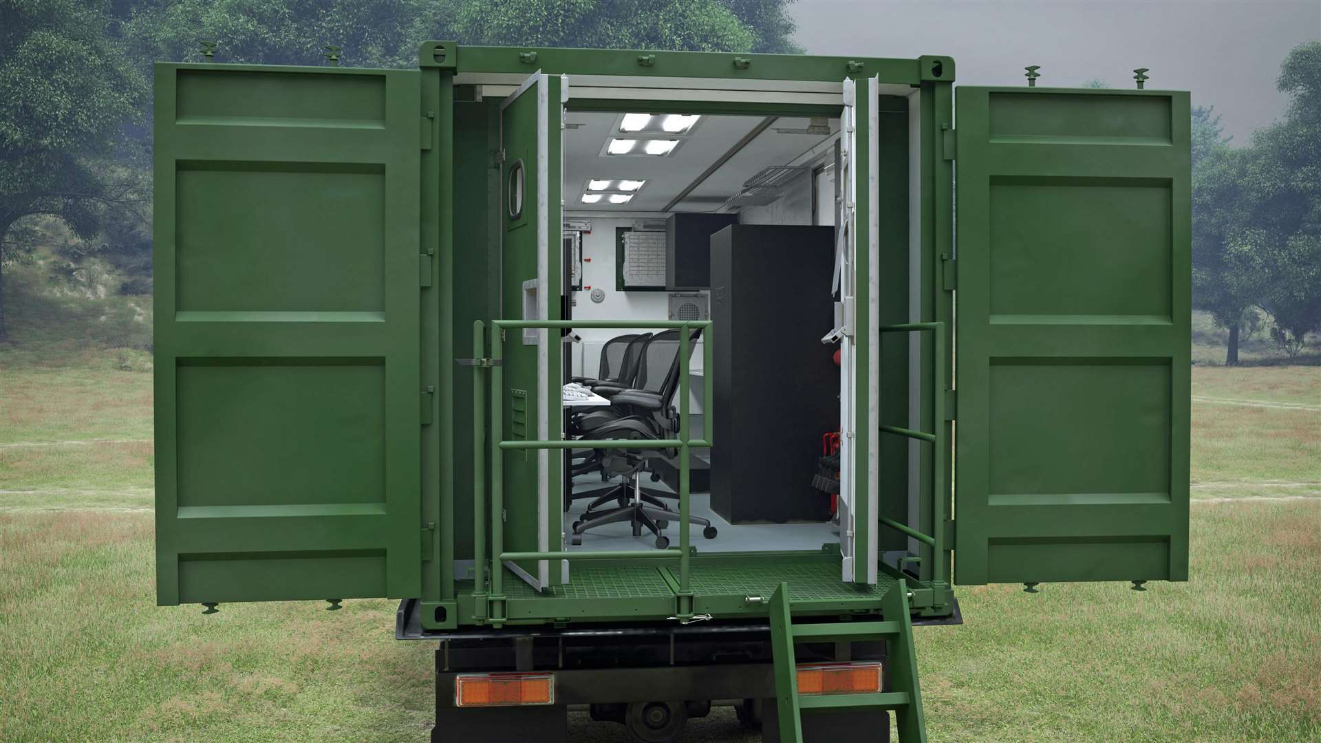 CAD images of the Deployable Office and Stores facilities for the Danish Armed Forces to be provided by Marshall Aerospace and Defence Group following the award of a framework agreement, the second contract in as many weeks (7484351)