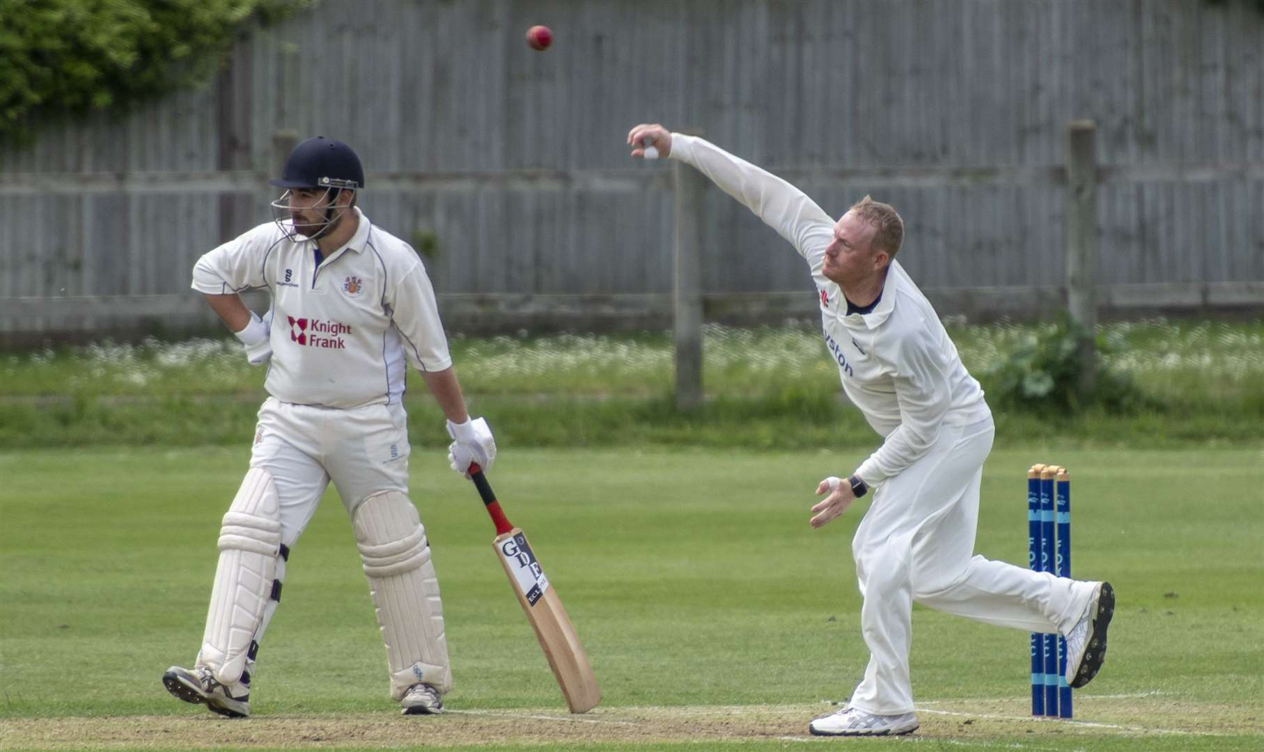 Jason Coleman was in the wickets for Foxton at the weekend. Picture: Keith Heppell