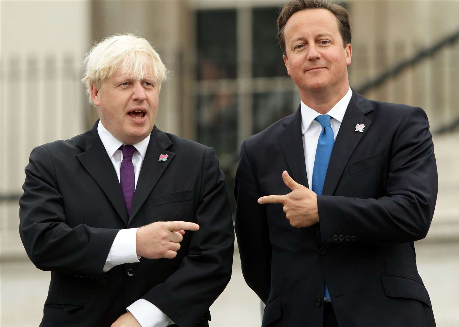David Cameron, right, seen here with the front runner for next prime minister, Boris Johnson, made rudeness one of his main contributions to British political discourse Picture: Yui Mok/PA Wire