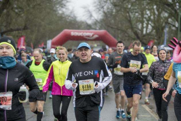 Cambridge Half Marathon 2017. Picture: Keith Heppell