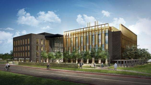 Vision of the new Abcam global HQ at Cambridge Biomedical Campus