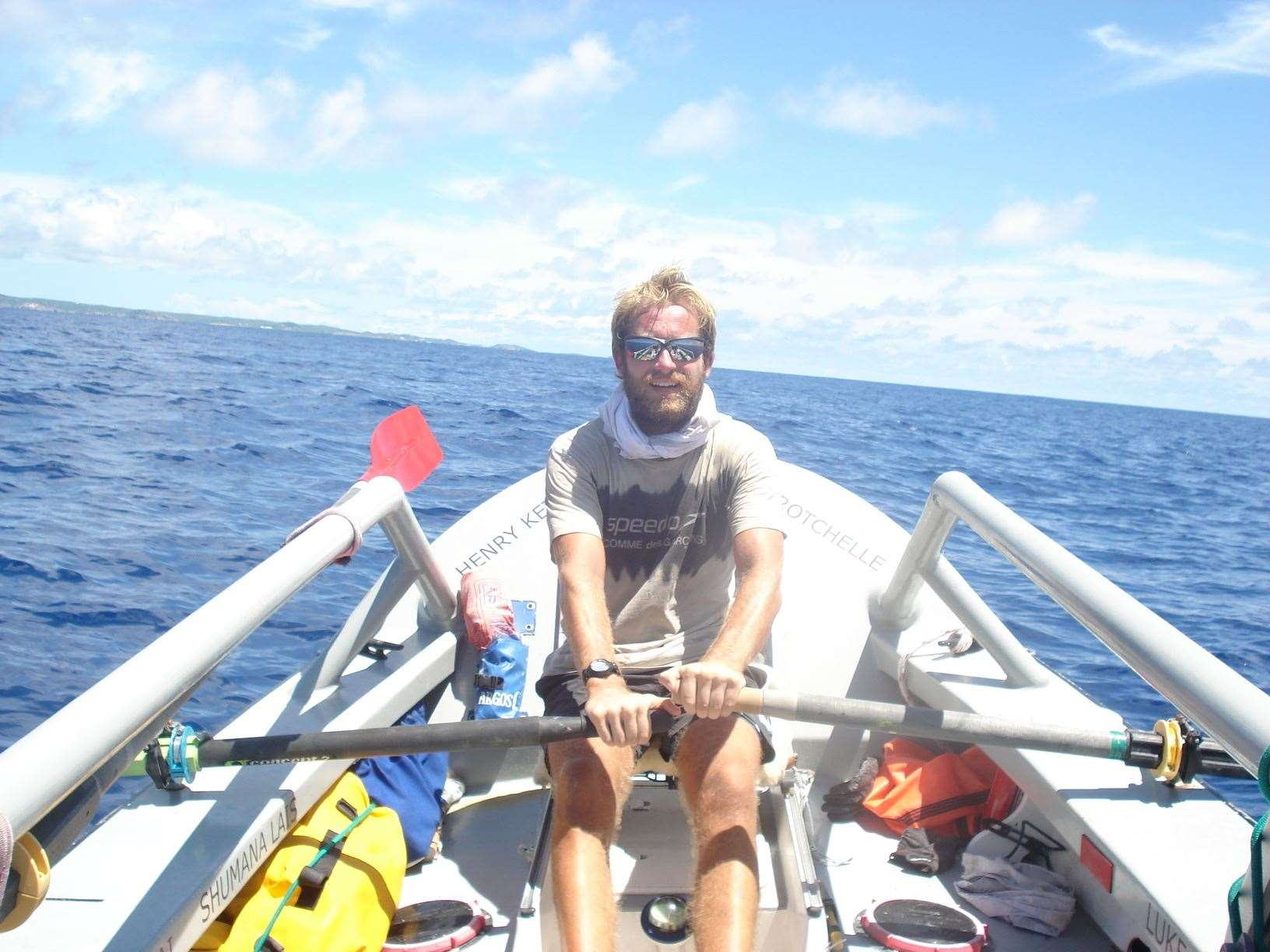 James Ketchell has rowed the Atlantic