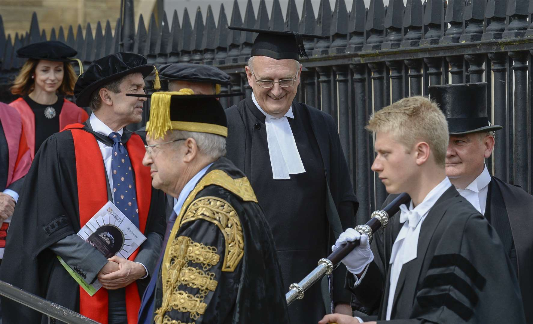Professor Sir Leszek Borysiewicz was vice-chancellor of the University of Cambridge. Picture: Keith Heppell