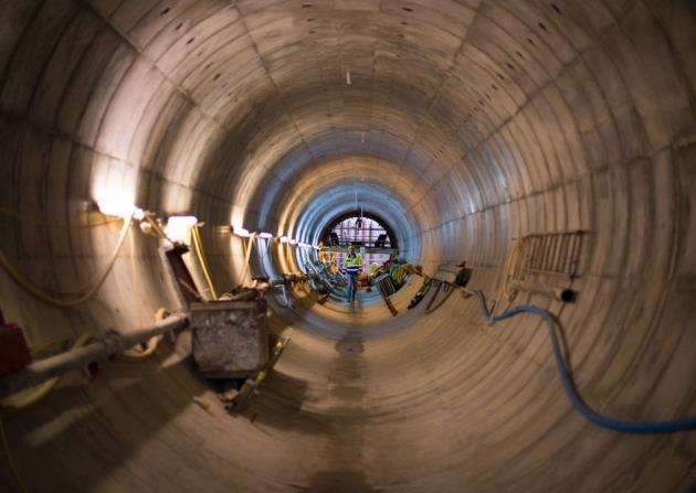 AstraZeneca already has tunneling experience under the ground in Cambridge. Picture: AstraZeneca