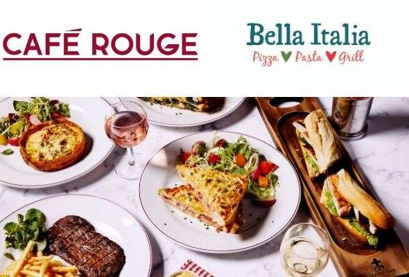 Casual Dining owns Bella Italia, Cafe Rouge and Las Iguanas