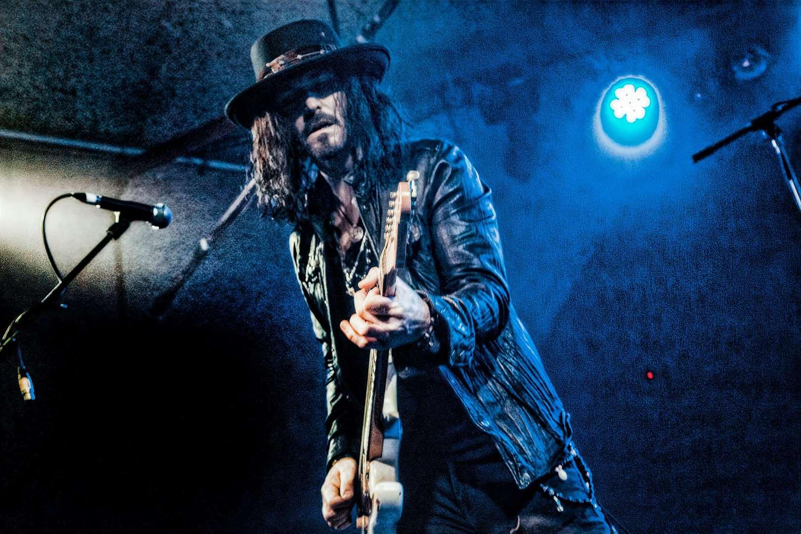 Blues-rock musician Troy Redfern.  Photo: Haluk Gurer