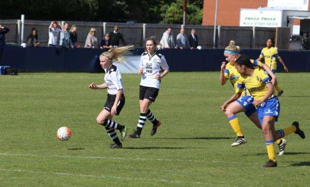 Cambridge City player Charlotte Gillies