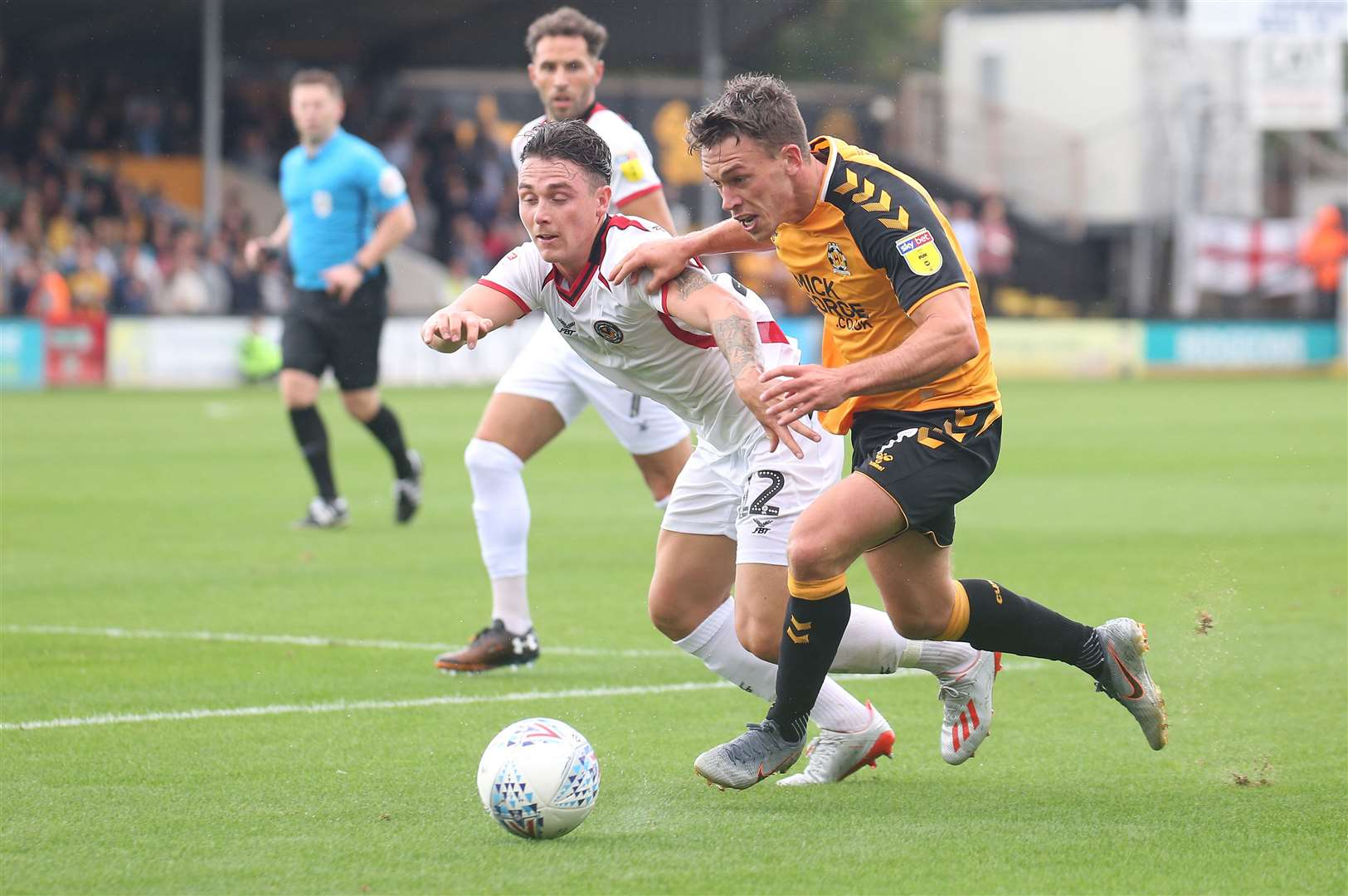 Cambridge United midfielder Luke Hannant. Picture: Rich Marsham