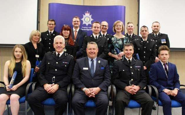 Police officers and members of the public commended for their bravery at annual ceremony