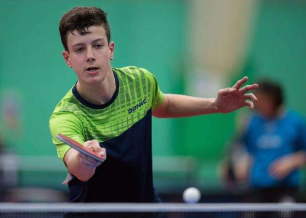 Table tennis player Sam Chesterman. Picture: Michael Loveder