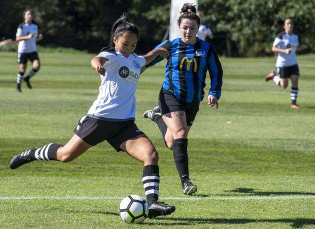 Cambridge City Ladies v Bedford Ladies at Trinity College Old Field Sports Ground, . Picture: Keith Heppell