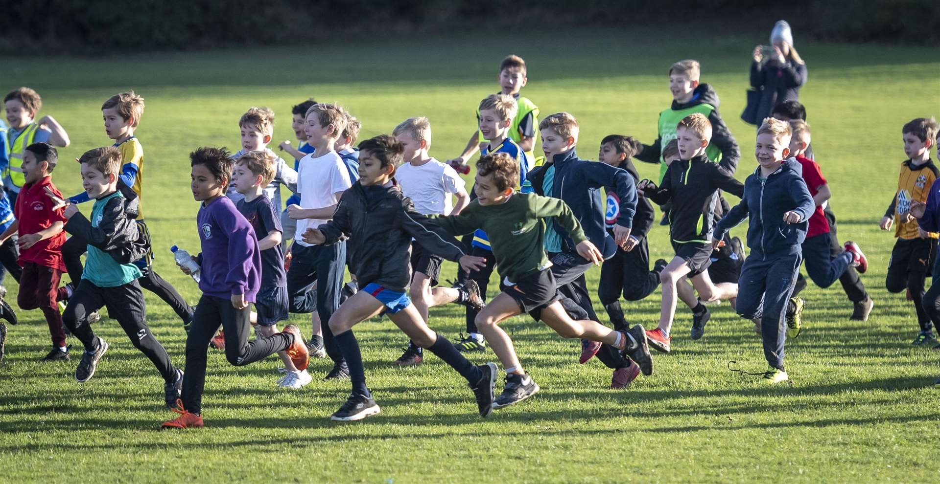 Cambridge SSP cross-country, The Netherhall School. Picture: Keith Heppell. (5728984)