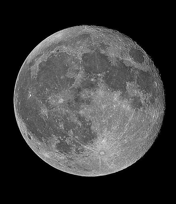 The full moon. Picture: Paul Fellows (21562988)