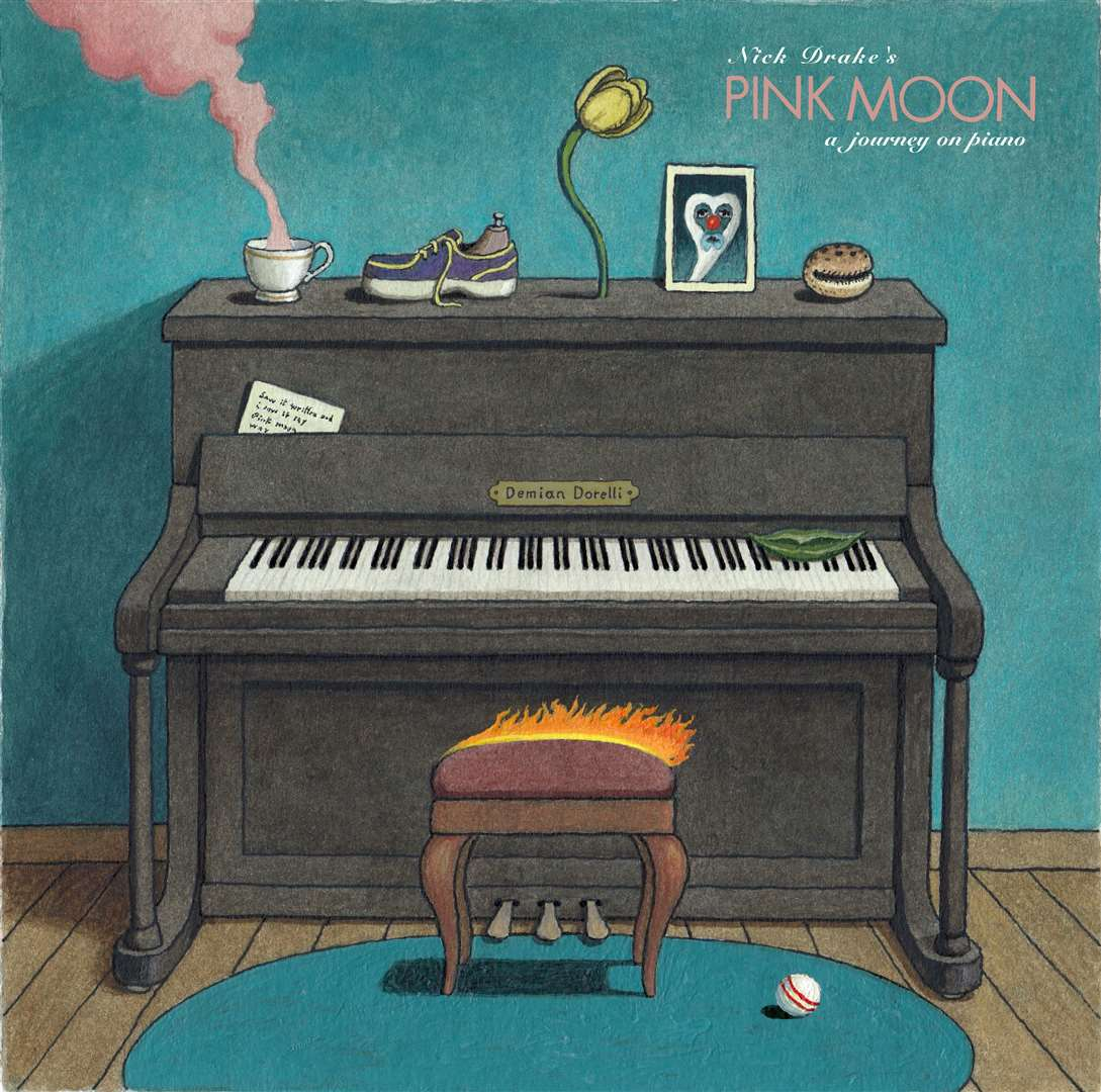 Pink Moon by Nick Drake, a trip to the piano by Cambridge musician Demian Dorelli