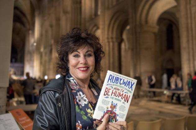 Ruby Wax. Picture: Keith Heppell