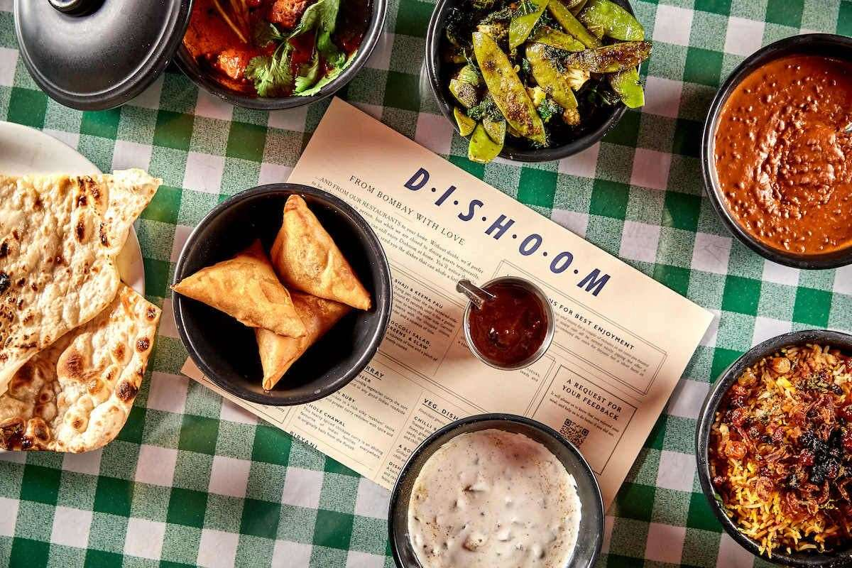A Dishoom delivery. Picture Charlie McKay