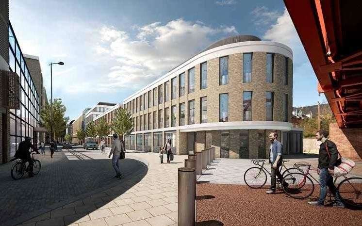 Brookgate's revised designs for the Devonshire quarter at the station. Picture: Brookgate / Bidwells (42745798)