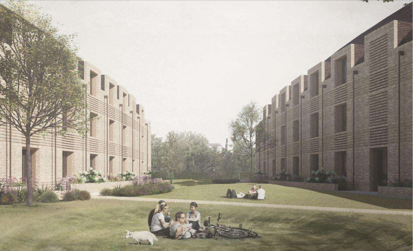 King's College student accomodation plan for Barton Road.(6164352)