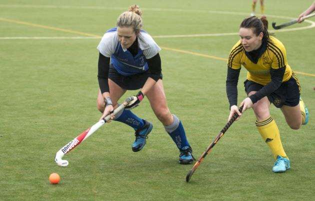 Linsey Porter in action for Cambridge Nomads. Picture: Keith Heppell.