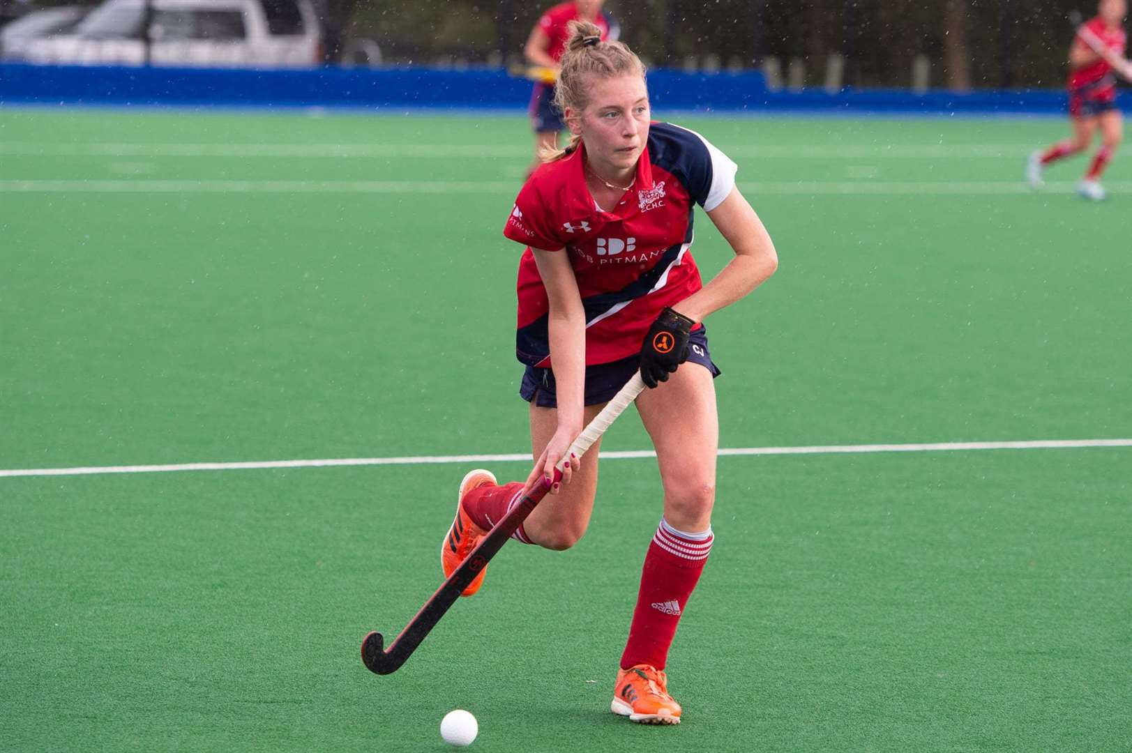 Cambridge City hockey player Kate Axford. Picture: Simon Webb (43137336)