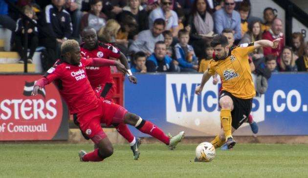 Piero Mingoia looks set to miss the rest of the season for Cambridge United.