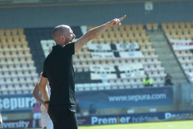 Cambridge United head coach Joe Dunne. Picture: Keith Heppell